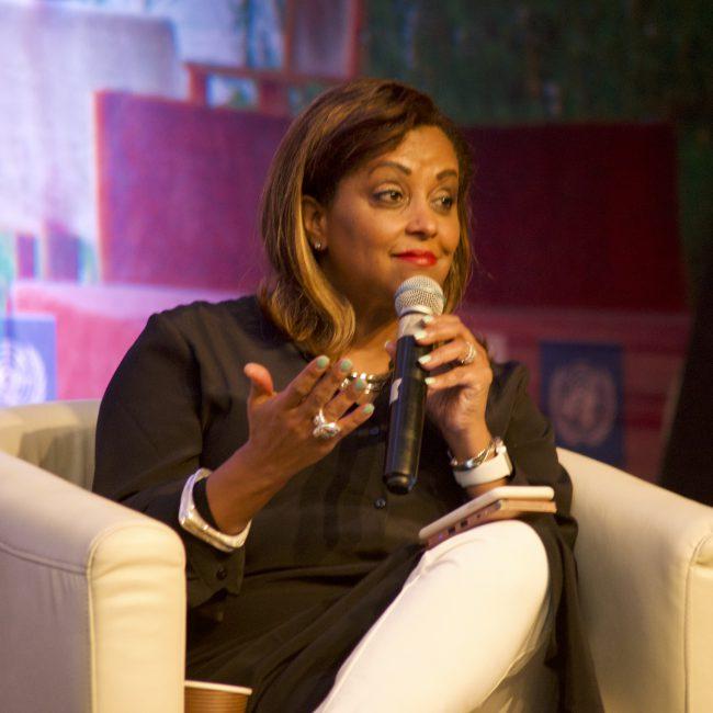 Dr Eleni Gabre-Madhin, BlueMoon Ethiopia