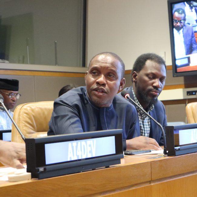 Dr Edem Adzogenu, Co-founder of AfroChampions, Ghana