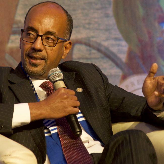 Mr Admassu Tadesse, President, Trade Development Bank (TDB), Ethiopia