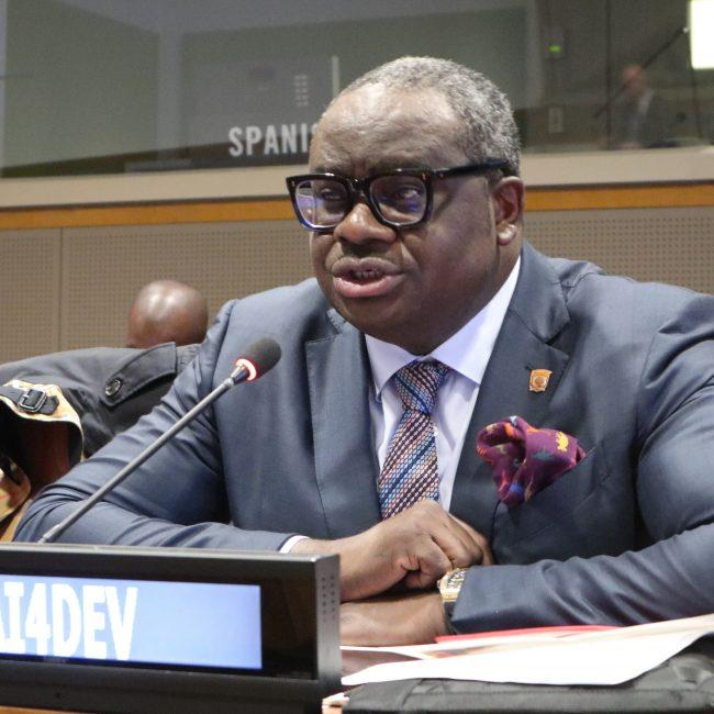 Mr Temitope Shonubi, Co-founder & Executive Director, Sahara Group, Nigeria